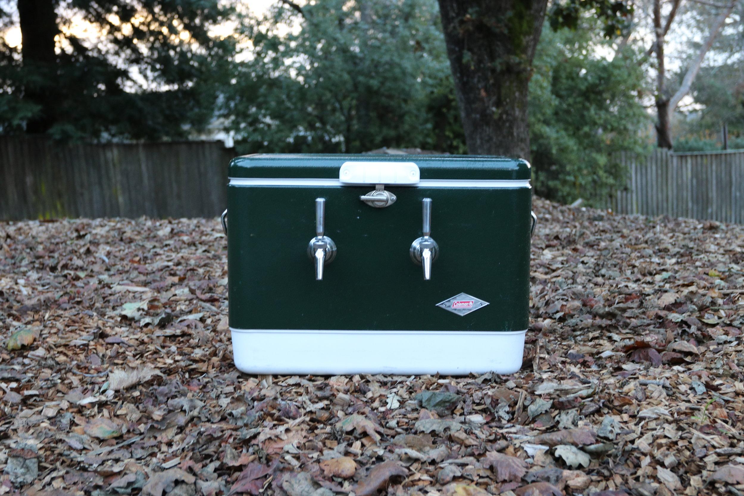 green steel jockey box