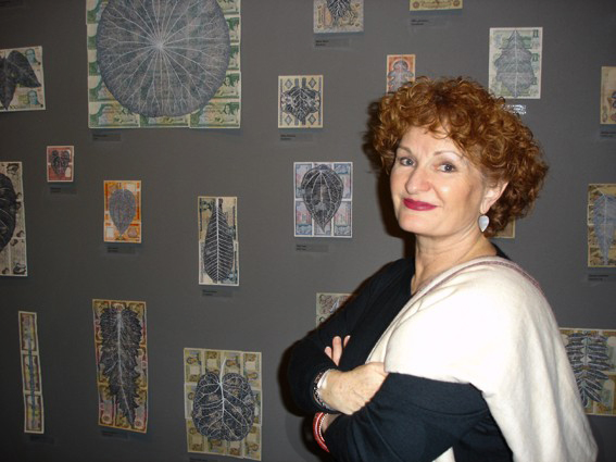 Julie Ewington at The Art of Fiona Hall, Art Gallery of South Australia, 2005