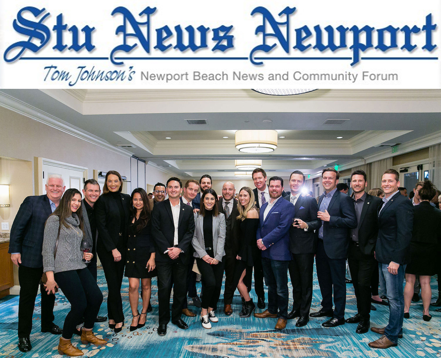 Board Members and Graduates of the Newport Beach Foundation. (Photo courtesy of the Newport Beach Foundation)