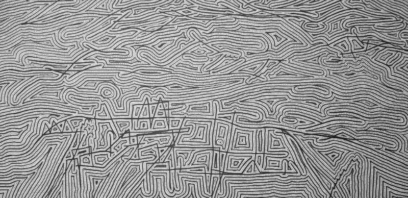 Untitled - Paul Eggins (TAS)Untitled: 2.2 (2016), ink on wood