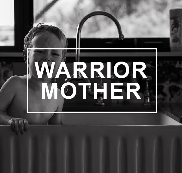 Warrior Mother - Meghann Loft and Tracey Scott (TAS)Sinkhole (2016), black and white print on paperCourtesy of the artists.