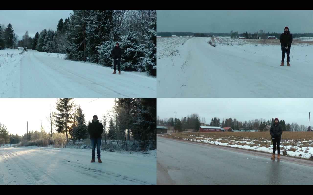 Four Walks   - Luke Aleksandrow