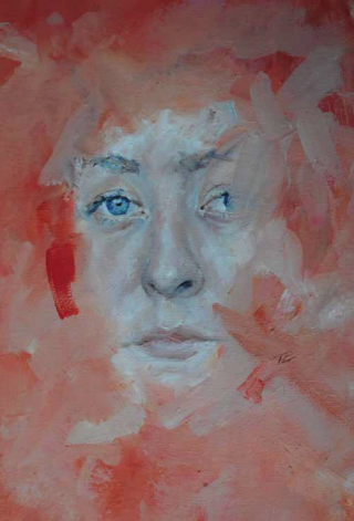 RACT Portraiture Prize   - 10th YEAR ANNIVERSARY  Alma (2017), Tilly Clough, Oil on Canvas.