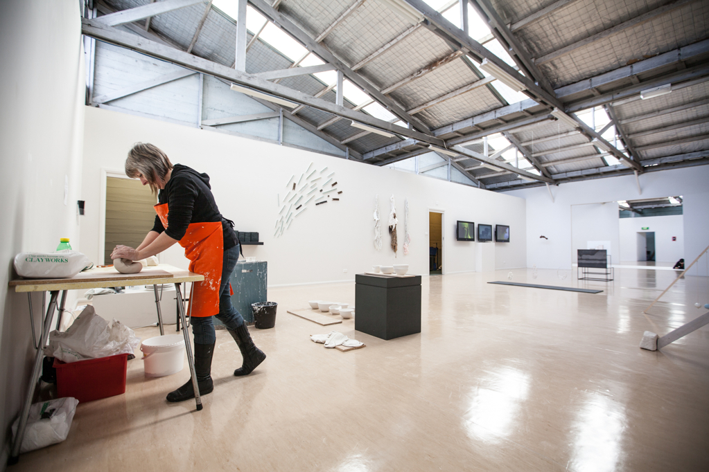 Enucleo – Contemporary Clay  - Co-curated by Serena Rosevear and Patrick Sutczak.catalogue