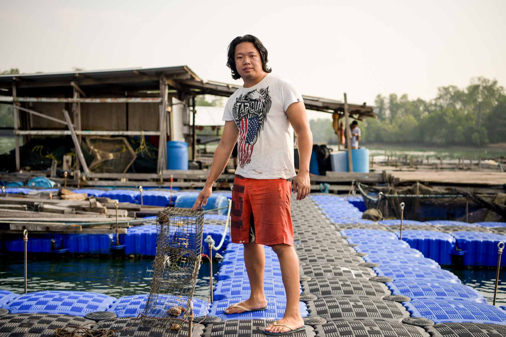 This Fish Farmer Dreams of Saving the Sea - Temasek, 31 March 2018