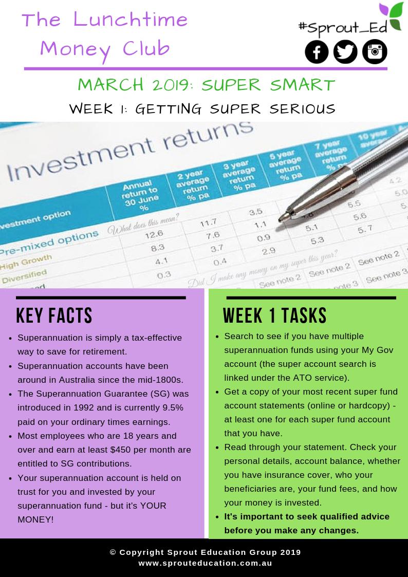 Super Smart Week 1