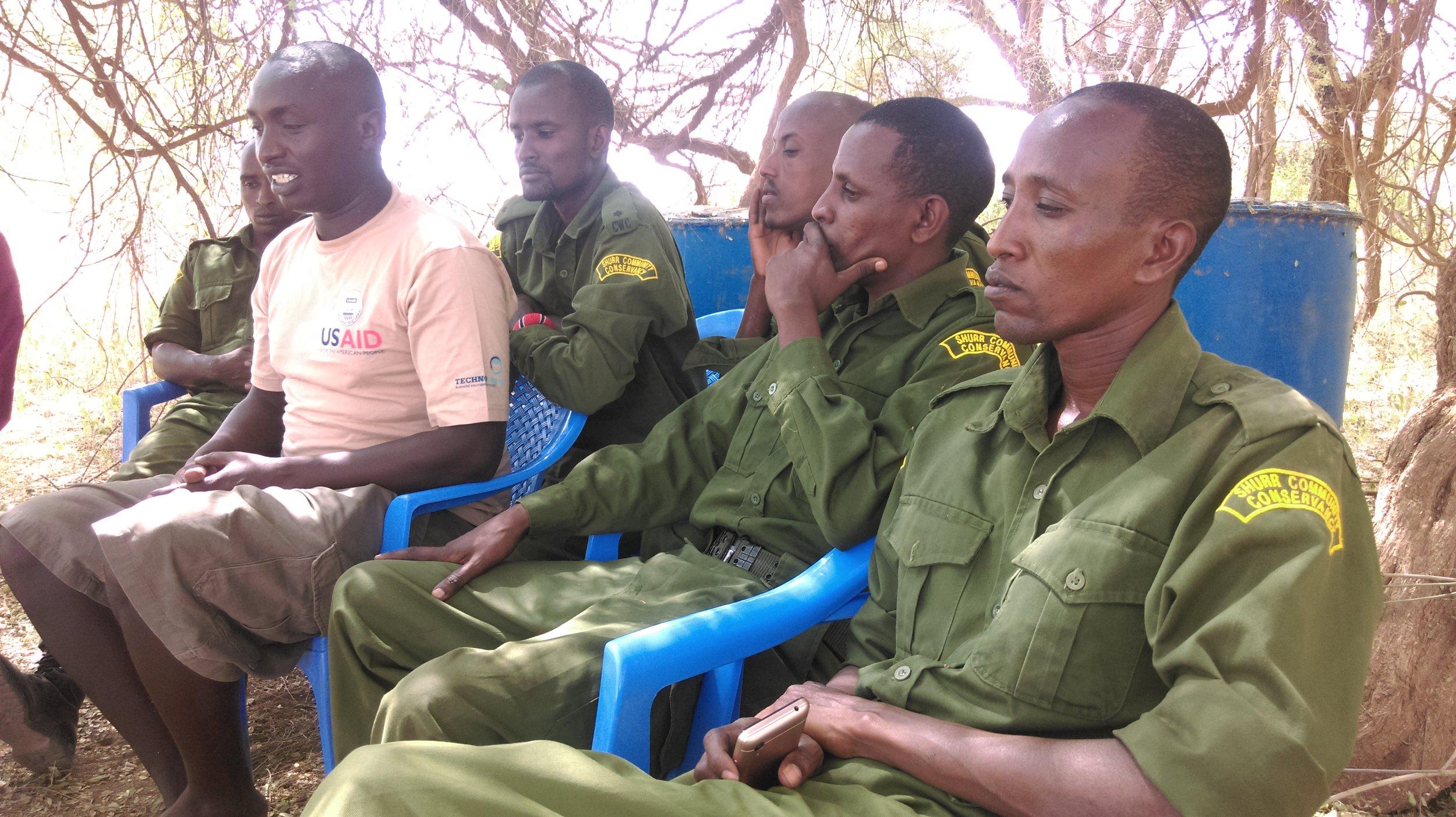 Songa Conservancy rangers