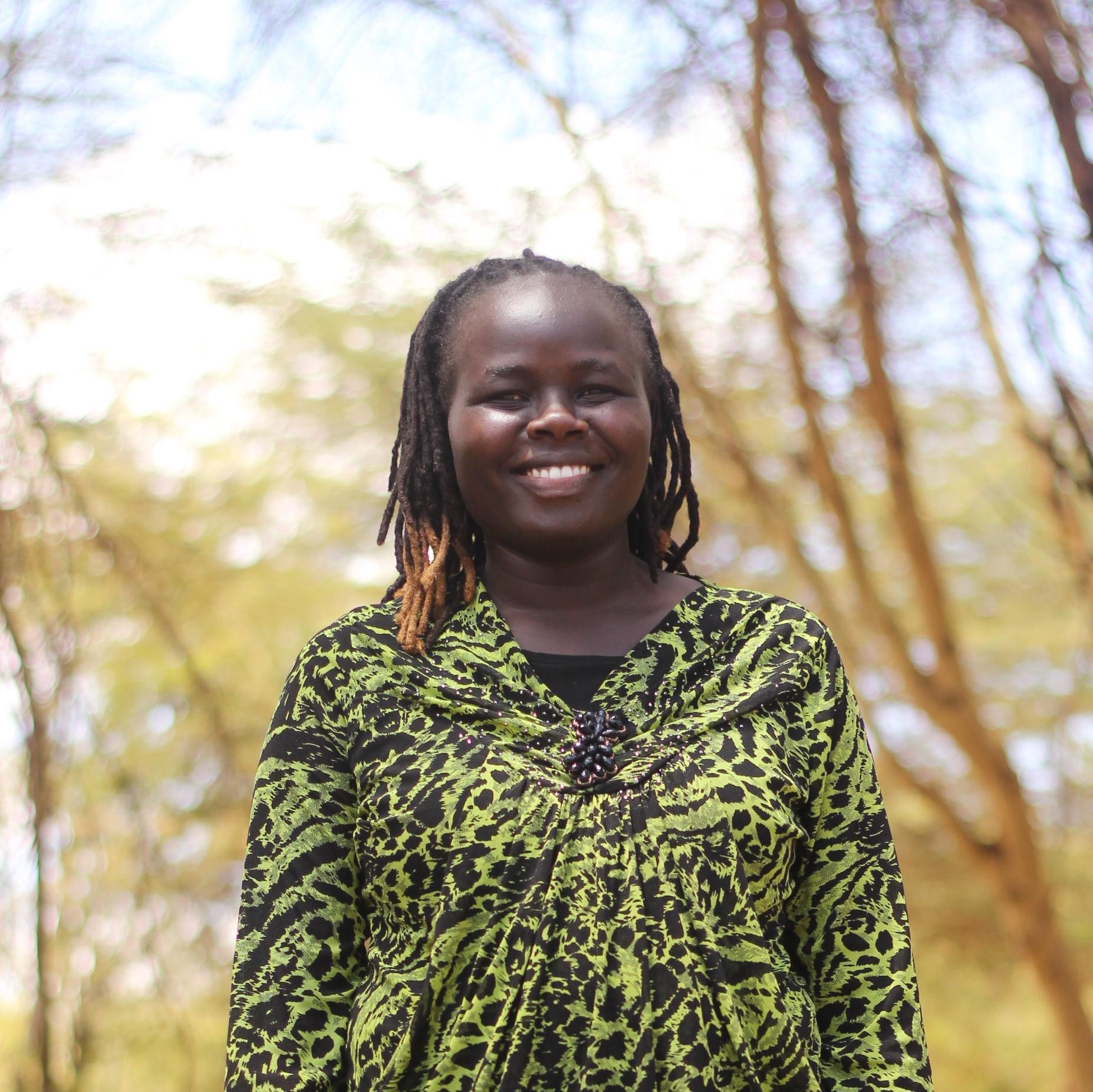 Rebecca Kochulem. - NRT West Community Development Officer, & former manager of Ruko Community Conservancy.