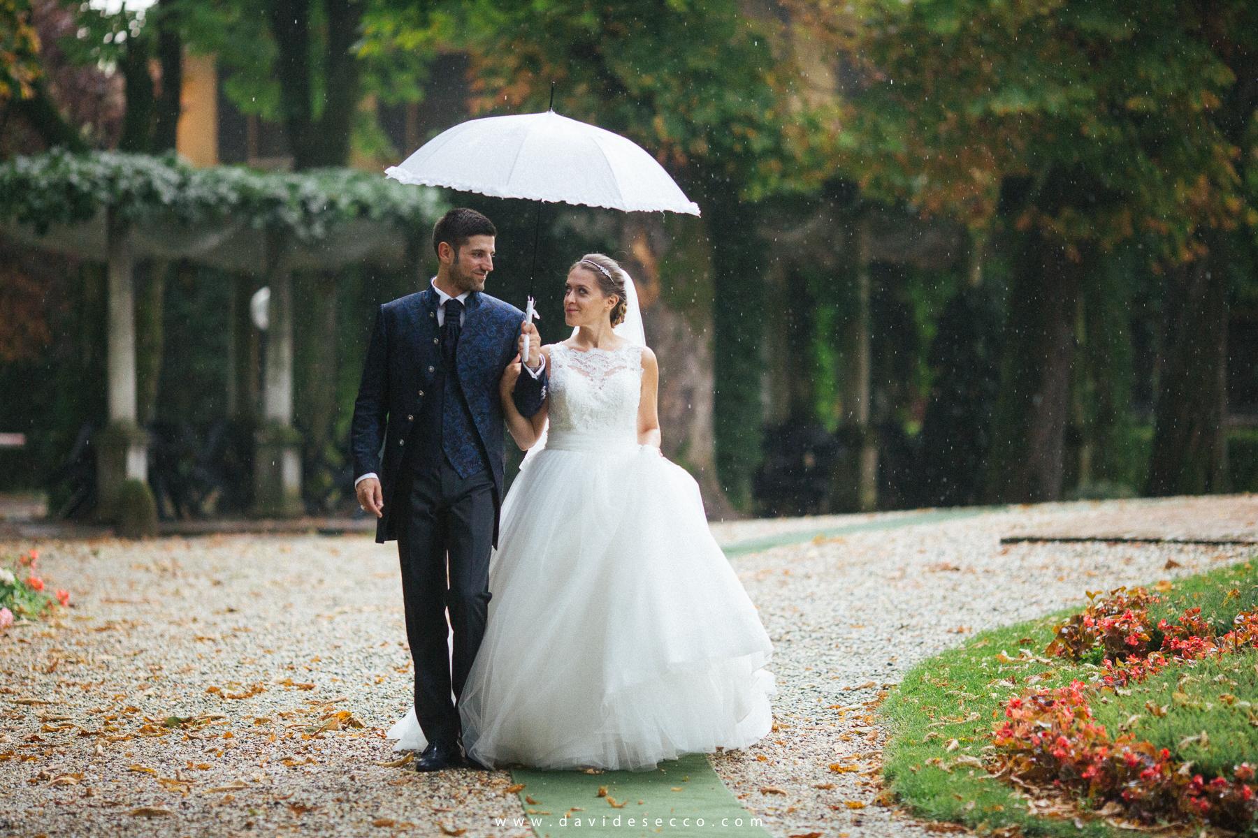 La pioggia non ci ha spaventato in alcun modo!