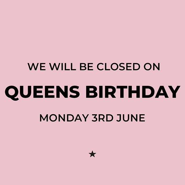 Enjoy the long weekend! 🍹😋 👑. We will be back with regular hours from Tuesday 4th June from 8am to 10pm. ⠀ .⠀ .⠀ .⠀ .⠀ .⠀ .⠀ .⠀ #longweekend #aucklandcity #foodie #auckland #aucklandeateries #queensrise #foodiegram⠀