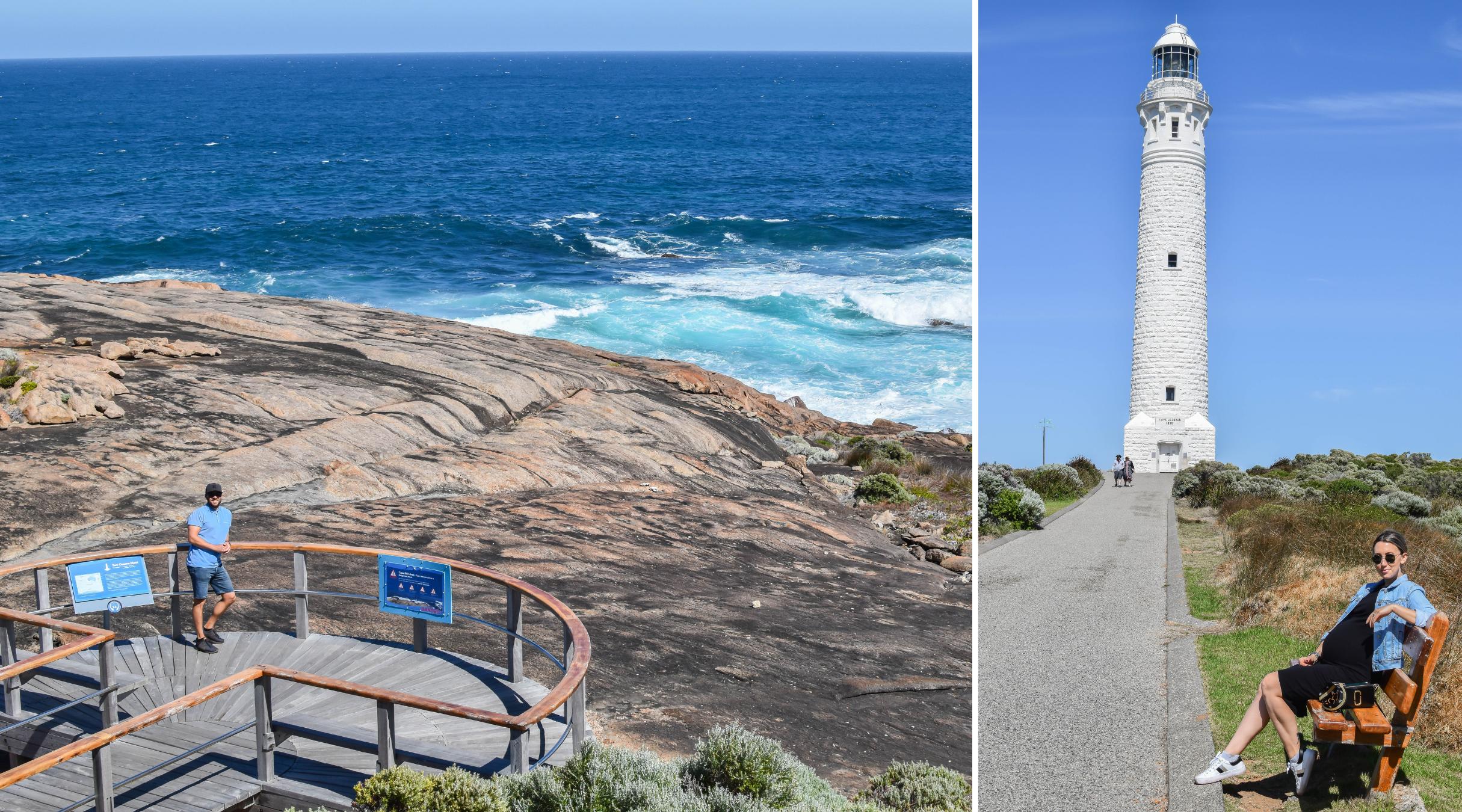 Cape Leeuwin Lighthouse, where the Indian & Great Southern Oceans meet.