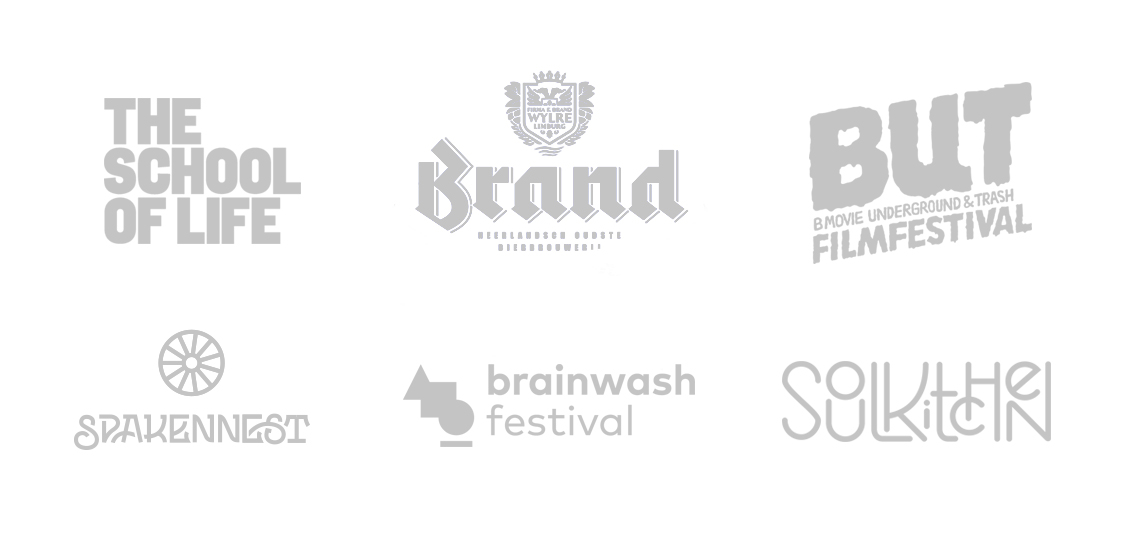 Brands I've worked for in the past.