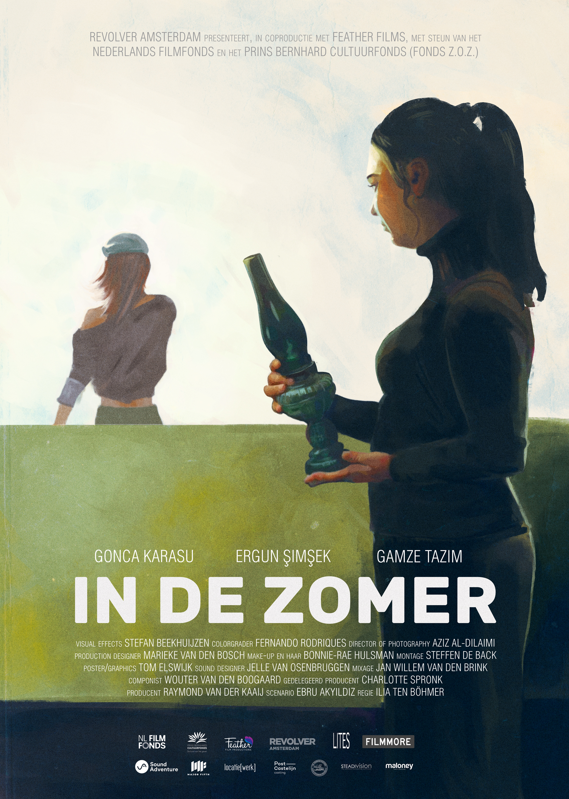 In De Zomer - Director Ilia Ten Bohmer & Producer Charlotte Spronk contacted me during the pre-production of their new award-winning film