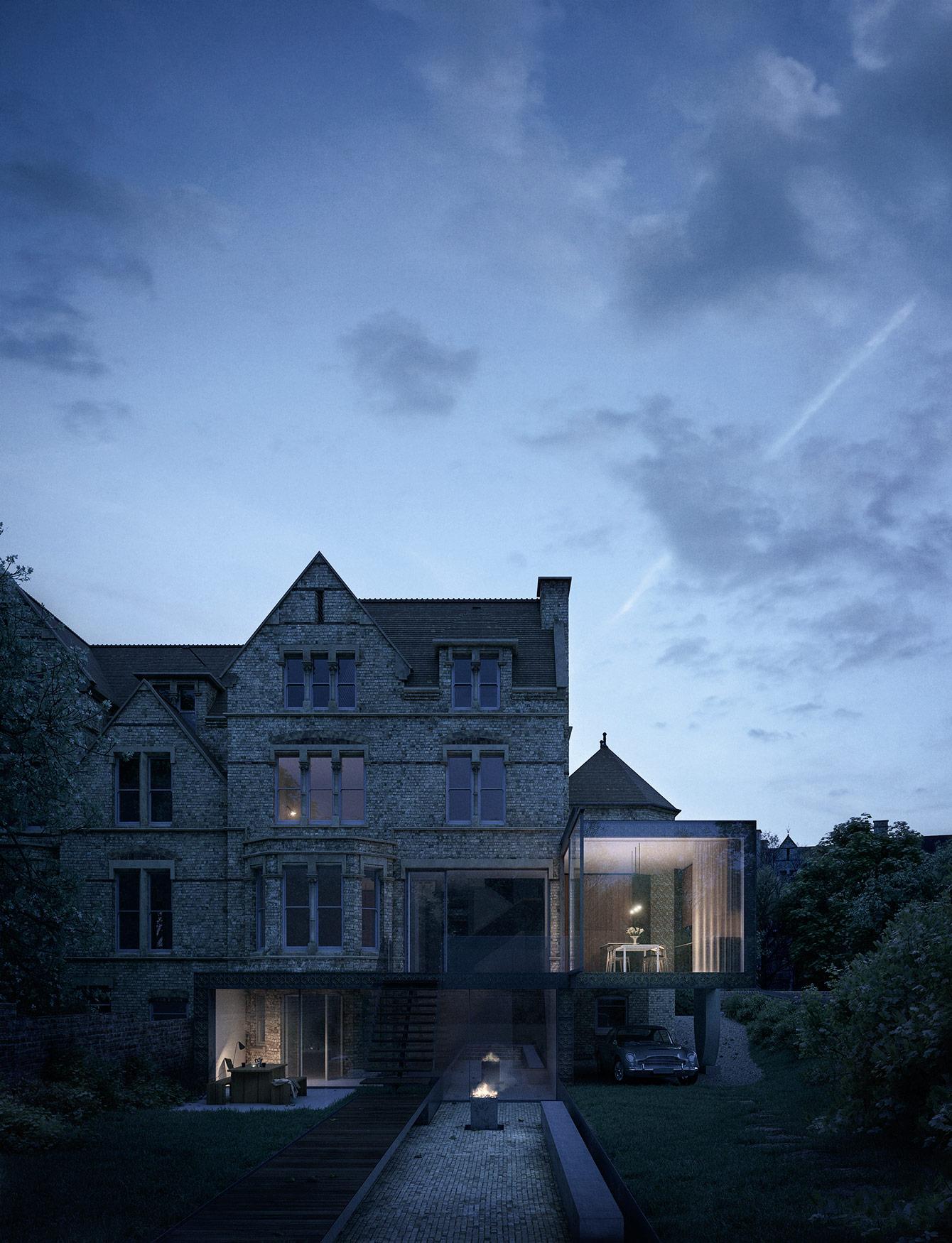 Quatrefoil House