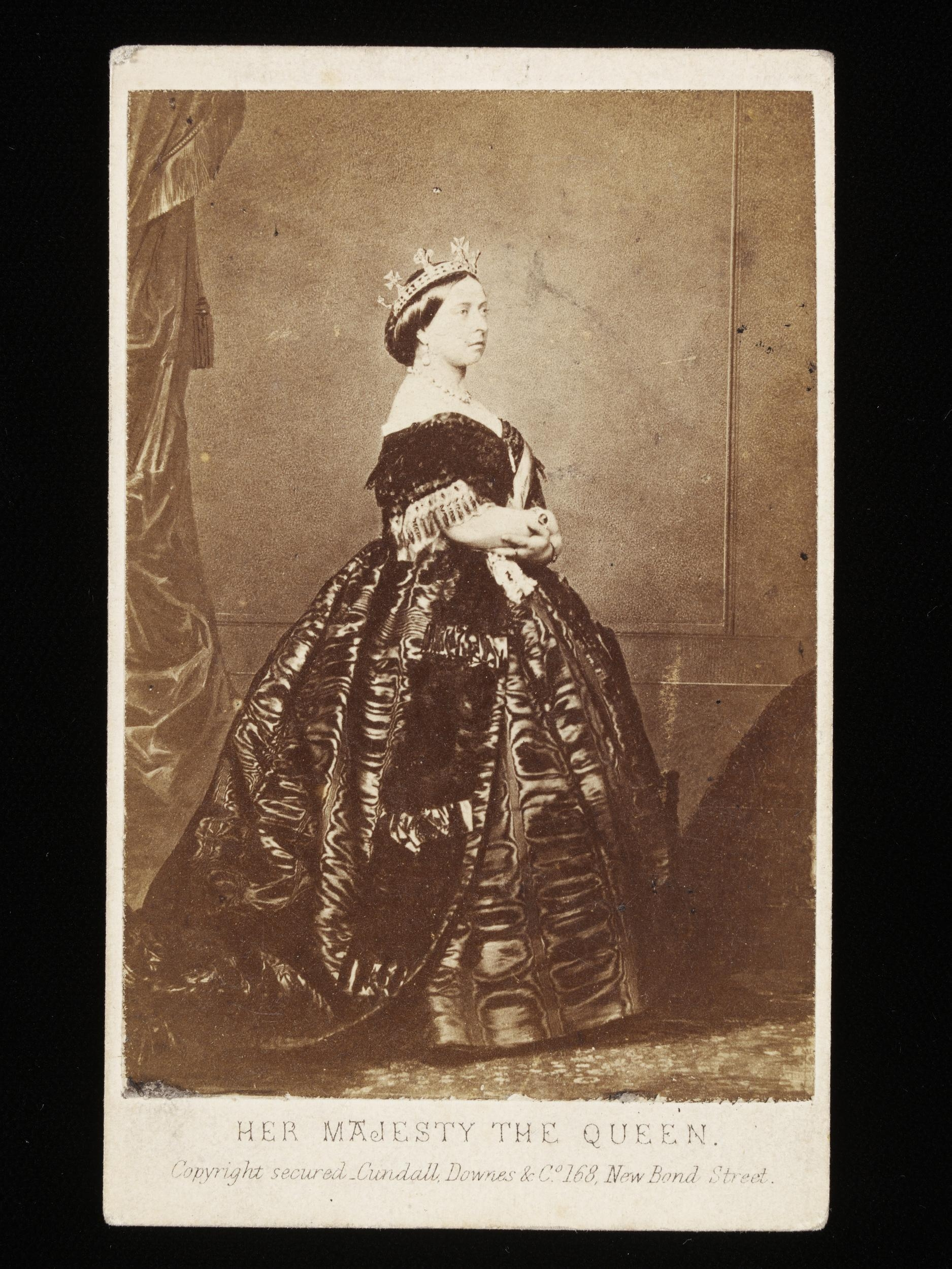 Queen Victoria, disapproving of our desire to vote. Easy for you to say, when you rule everything! - Courtesy of the Victoria and Albert Museum