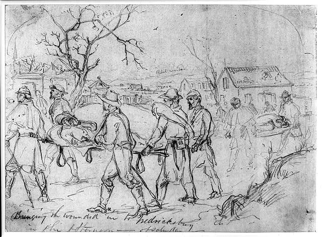 The Wounded at Fredericksburg
