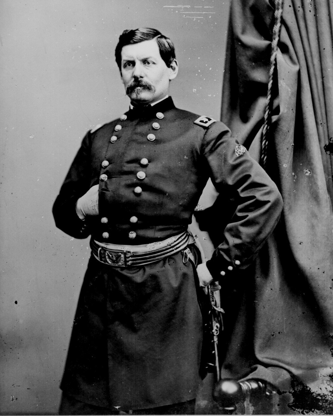 Handsome General McClellan, courtesy of the LOC.
