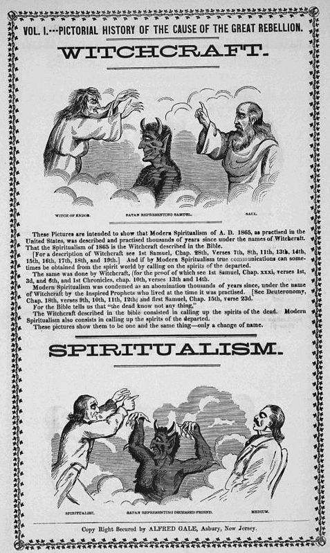 Divine power of the spirit, gifted to women, or devil-inspired witchcraft? The eternal question…   Wikicommons