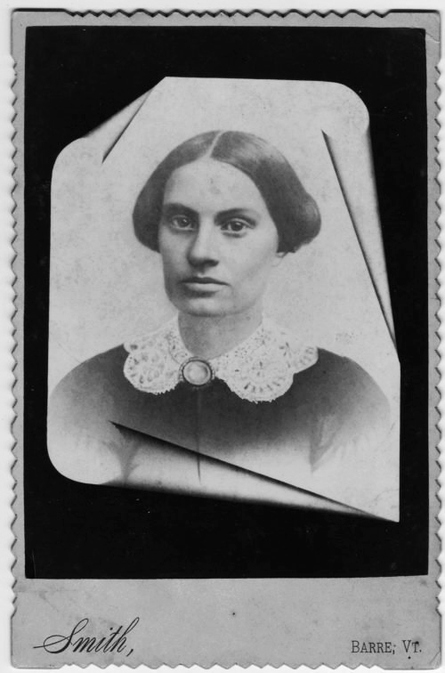 Acsha sprague was brought out of her bed by spirits. She found her passion in helping them heal others, too. That, and causes like suffrage and abolition. - Courtesy of the Vermont Historical Society