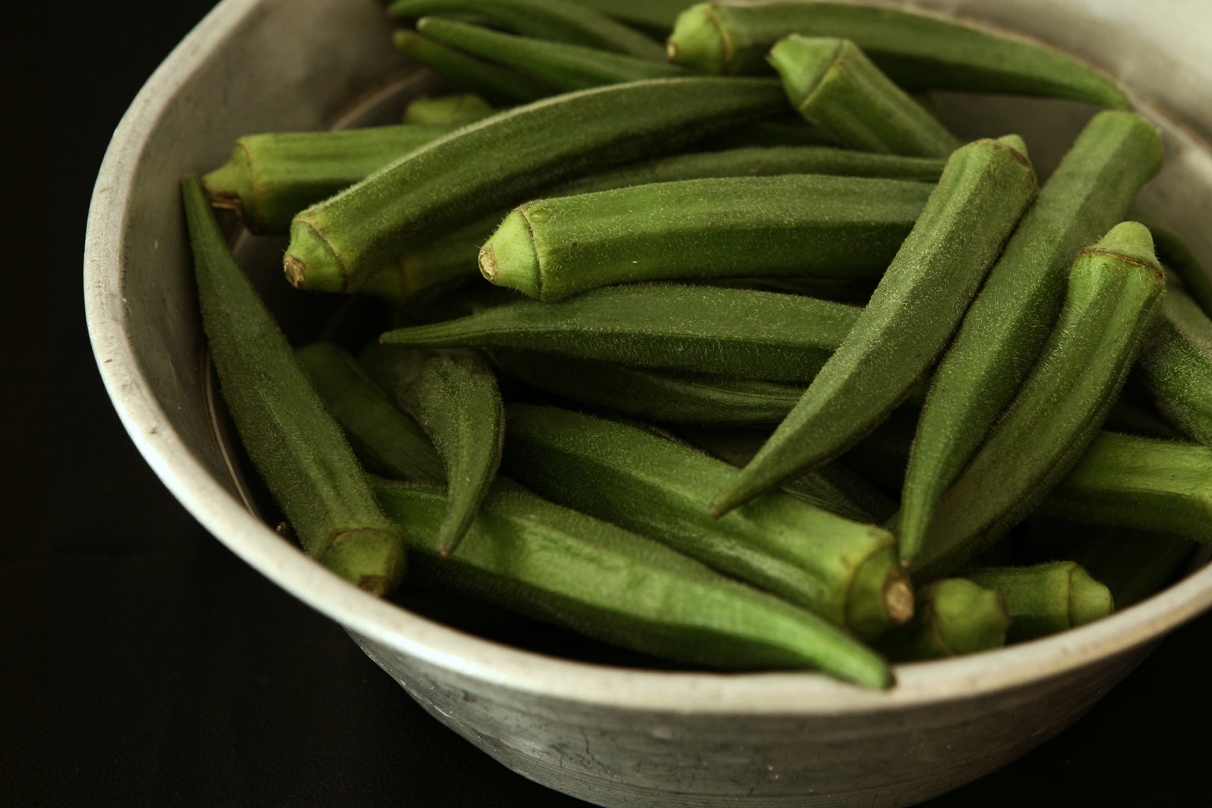 Okra was brought over by the enslaved from Africa, working its way into American medicine and cooking. It was used for all sorts of things, from a way of making an alternative to coffee grounds to a means of trying to induce a miscarriage. When it came to medicine, health and midwifery, the enslaved were generally on their own.