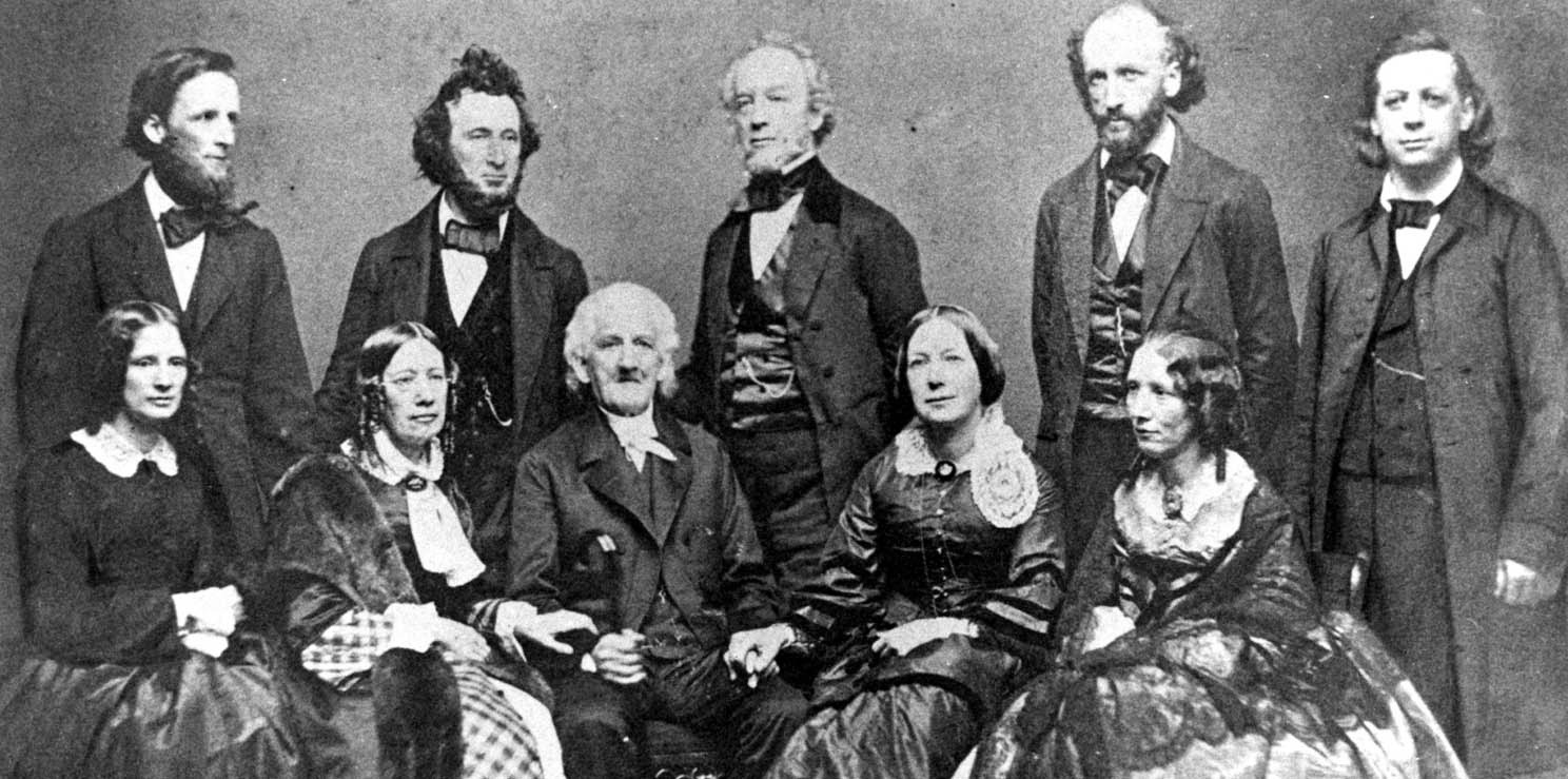 The Beecher clan was serious about getting things done. - Courtesy of the Harriet Beecher Stowe Center.
