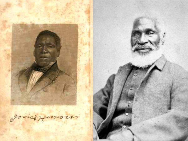 "Josiah Henson helped inspire the narrative for Uncle tom's Cabin and was always proud to have served as her Uncle Tom because, as he put it, ""I believe her novel was the beginning of the glorious end.""   Wikicommons"