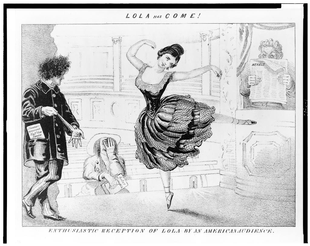 dance, lola, dance!! - Courtesy of the Library of Congress