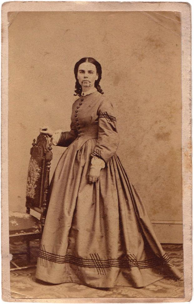 Olive Oatman, the girl with the blue tattoo and perhaps a touch of Stockholm syndrome? - Wikicommons