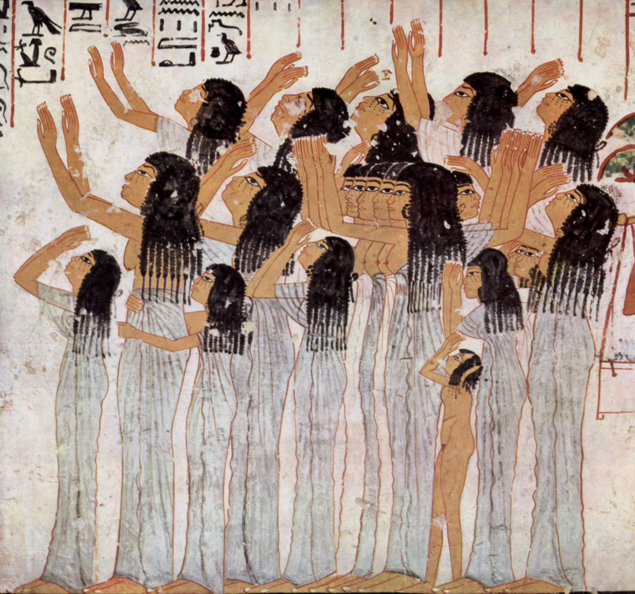 Let's get our wail on. - Lamenting Women from the tomb (TT55) of Ramose, Wikicommons