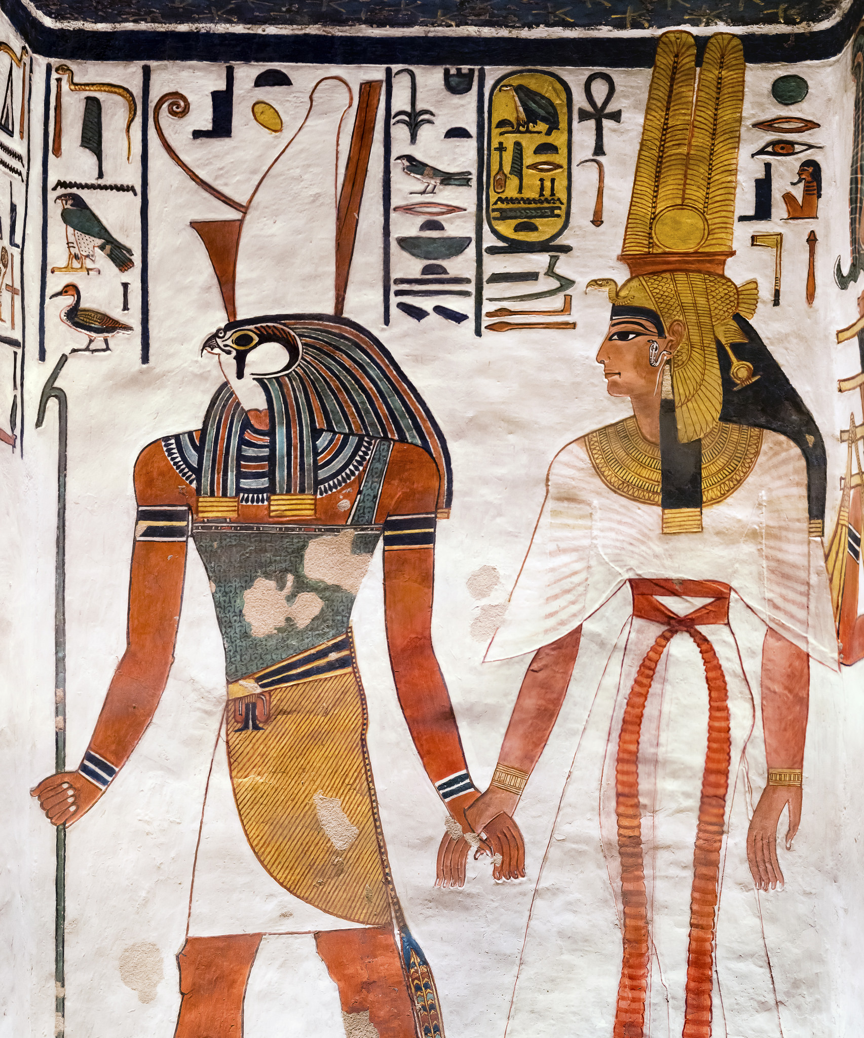 lead me to greatness. - Image from queen Nefertari's tomb, courtesy of kairoinfo4u on Flickr