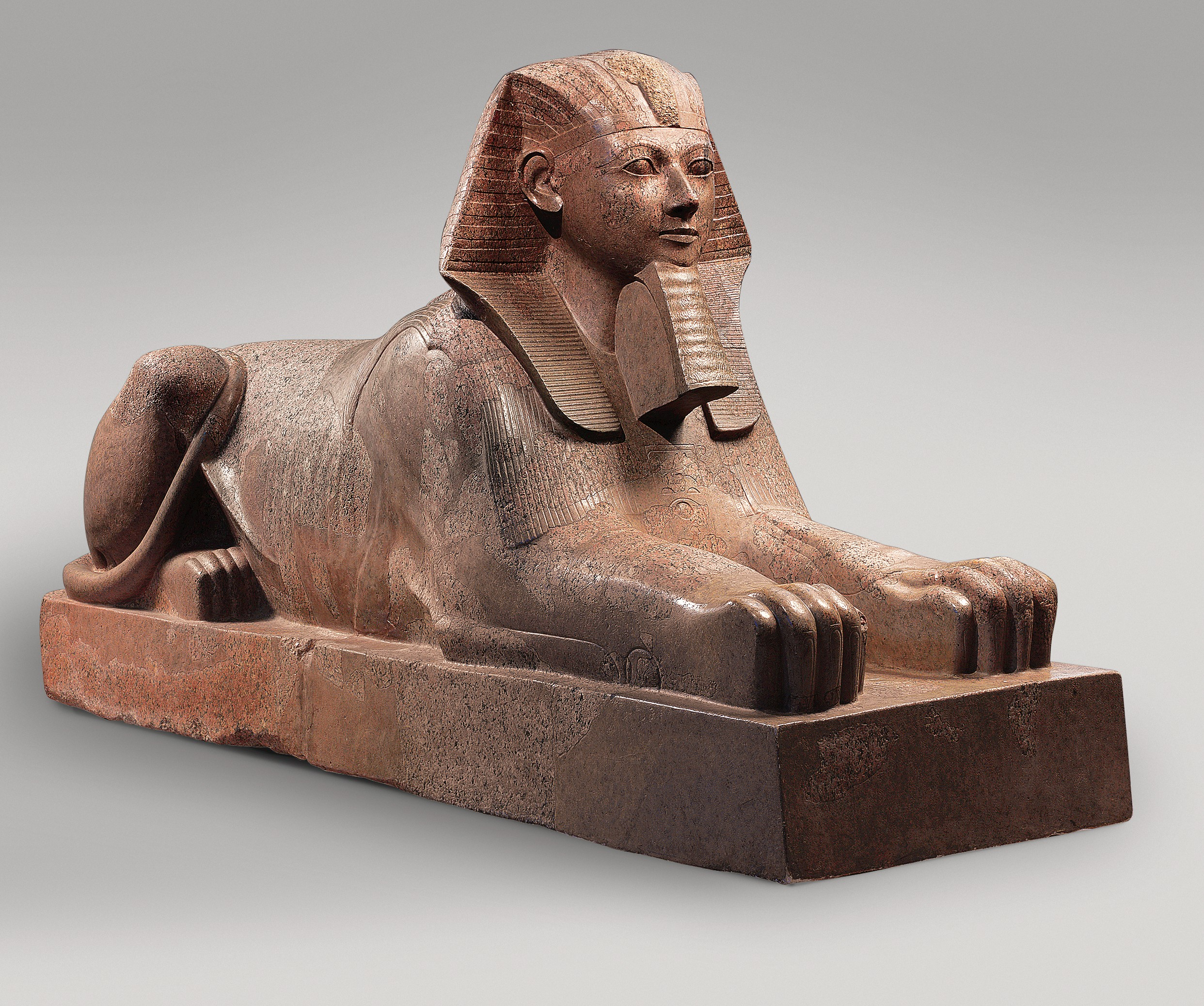 who says a lady can't be a sphinx and a pharaoh? - Statue of Hatshepsut, courtesy of the Metropolitan Museum of Art.