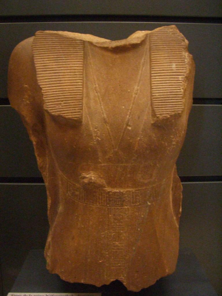Partial bust of Neferusobek