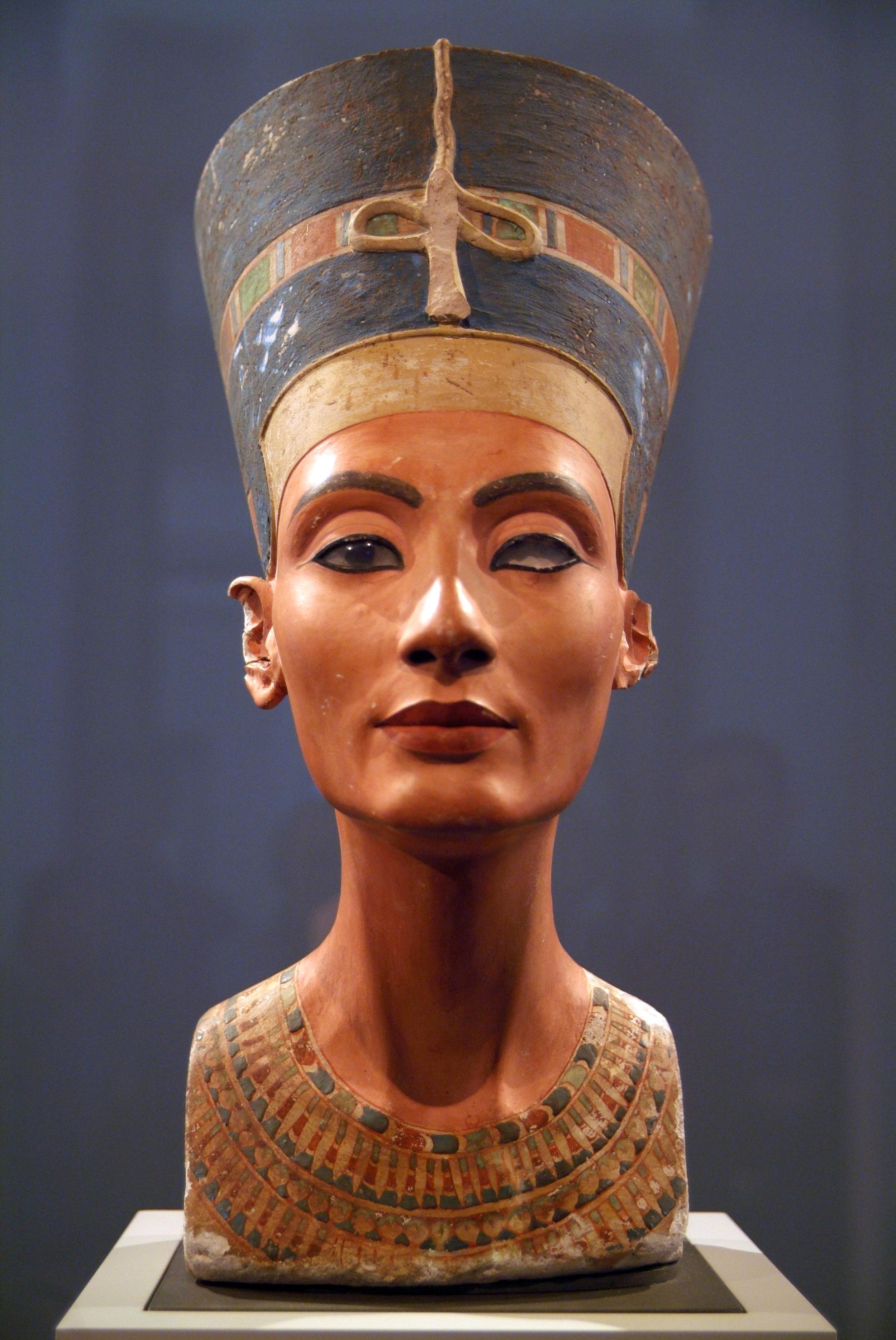 well hey, nefertiti. - Courtesy of Berlin's Neues Museum of Egyptian History