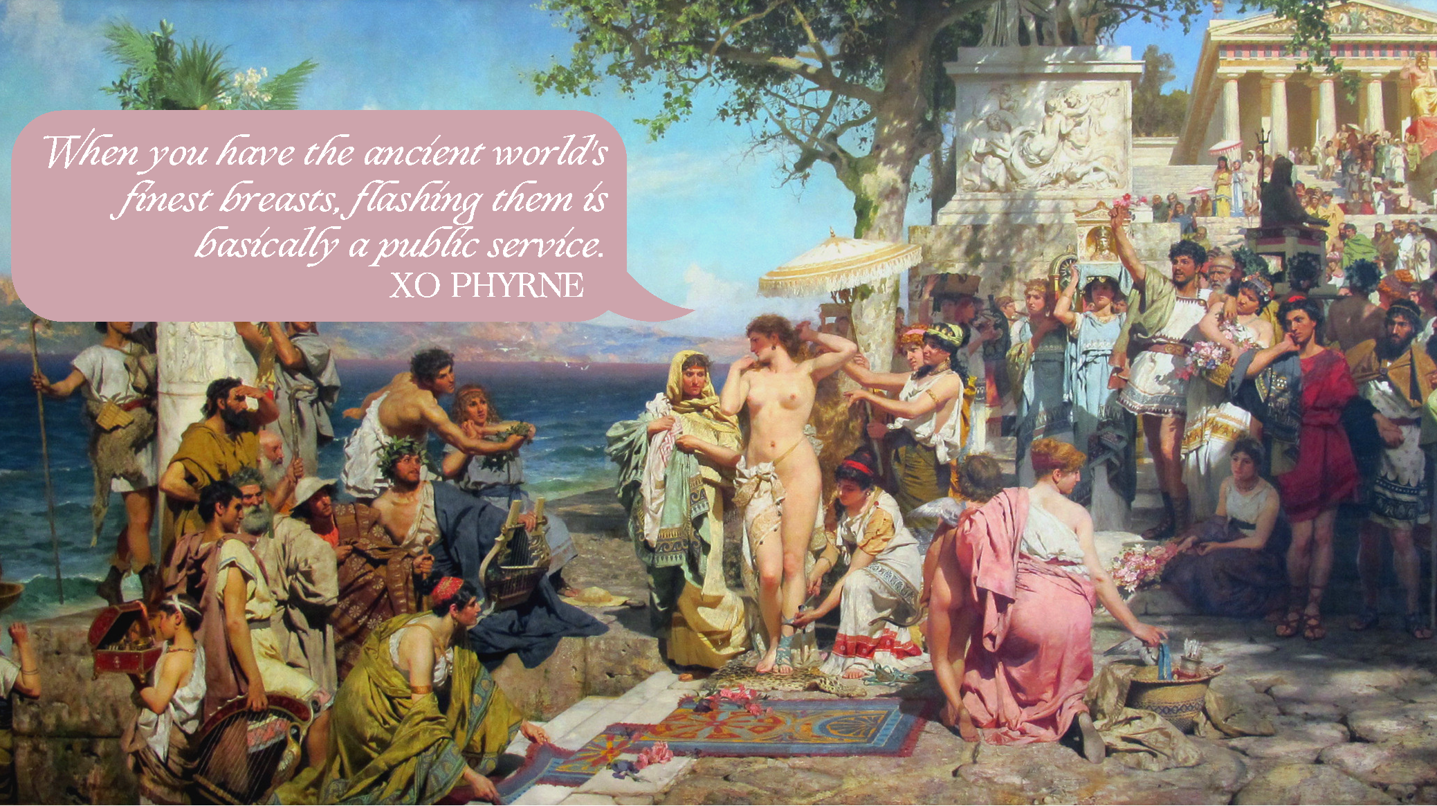 It's All Greek to Me: A Lady's Life in Ancient Greece — The