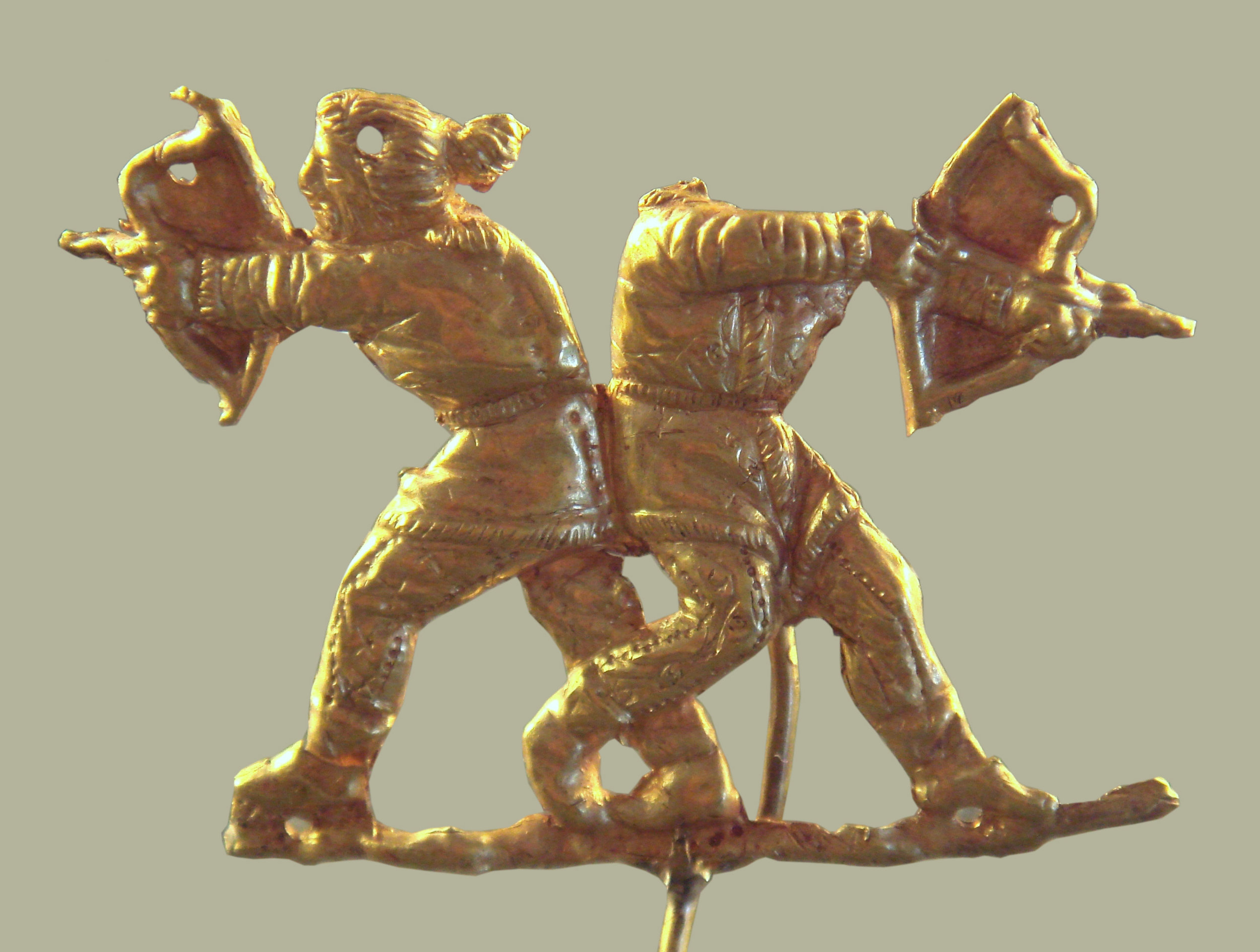 Scythians shooting with bows, as they do. - 4th century BCE. Wikicommons