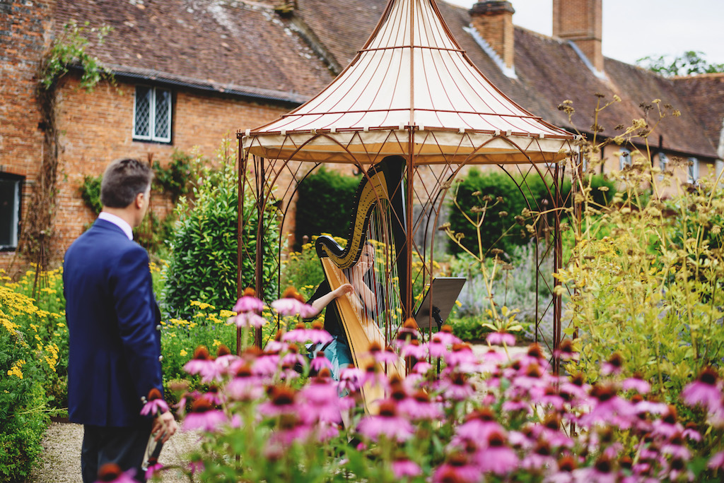 Amy at the  Walled Garden at Cowdray