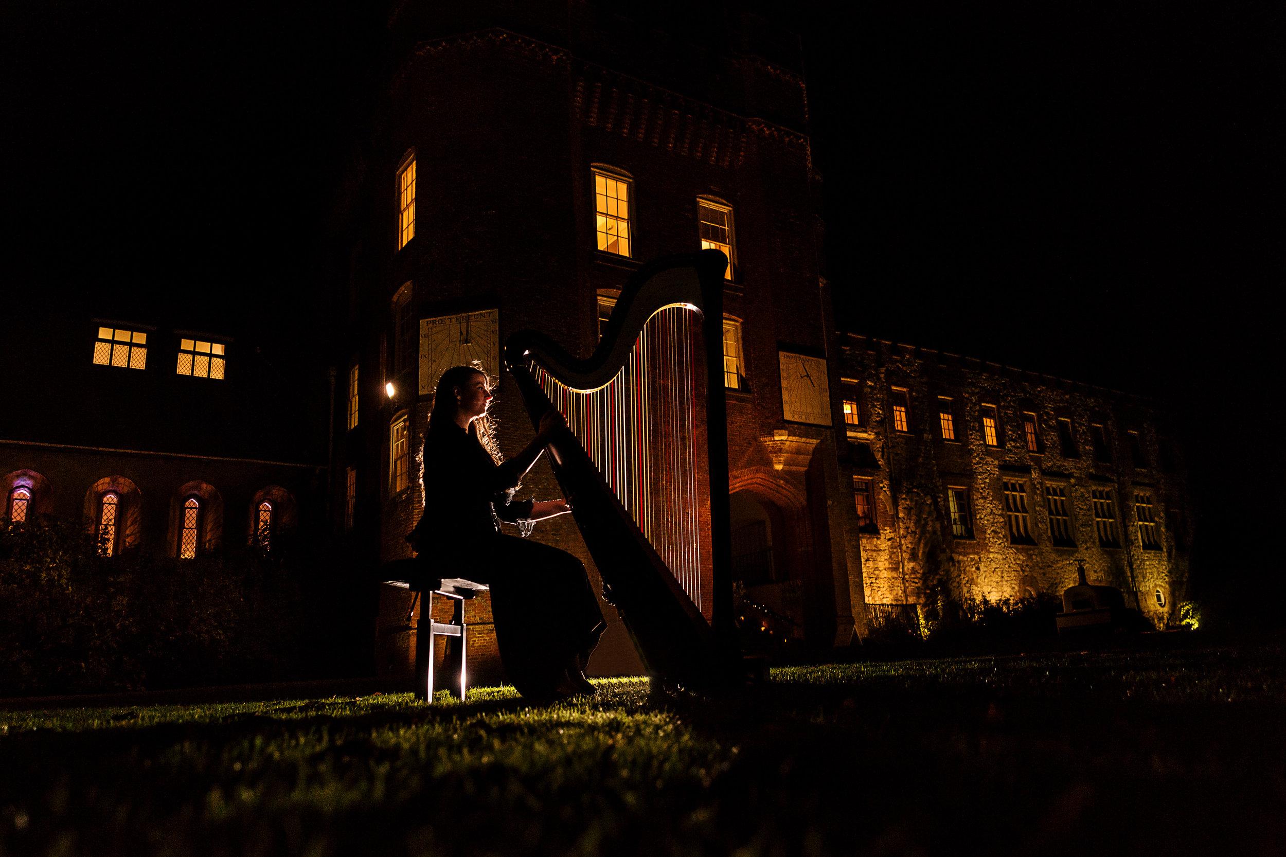 Amy at  Farnham Castle  - photo by  CG Wedding Photography