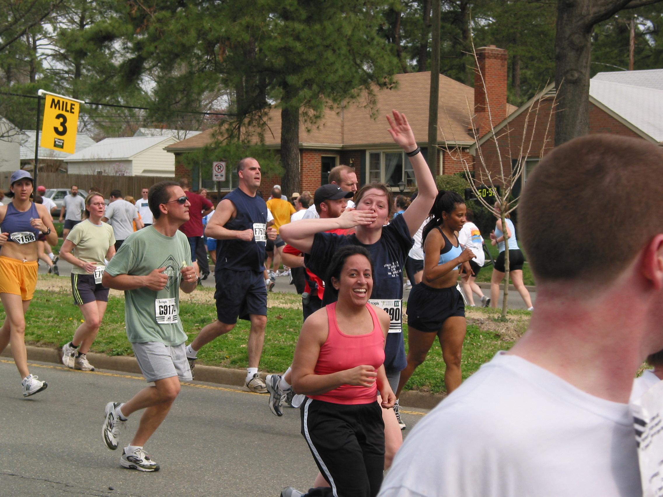 In March 2004, I ran a 10k after a 10 week coach to 10k program. I huffed and puffed the entire time. I don't think I have ever been that red faced in my life.