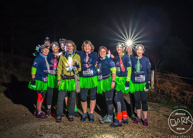 Two weeks after leaving hospital The Maverick Dark Dorset Race