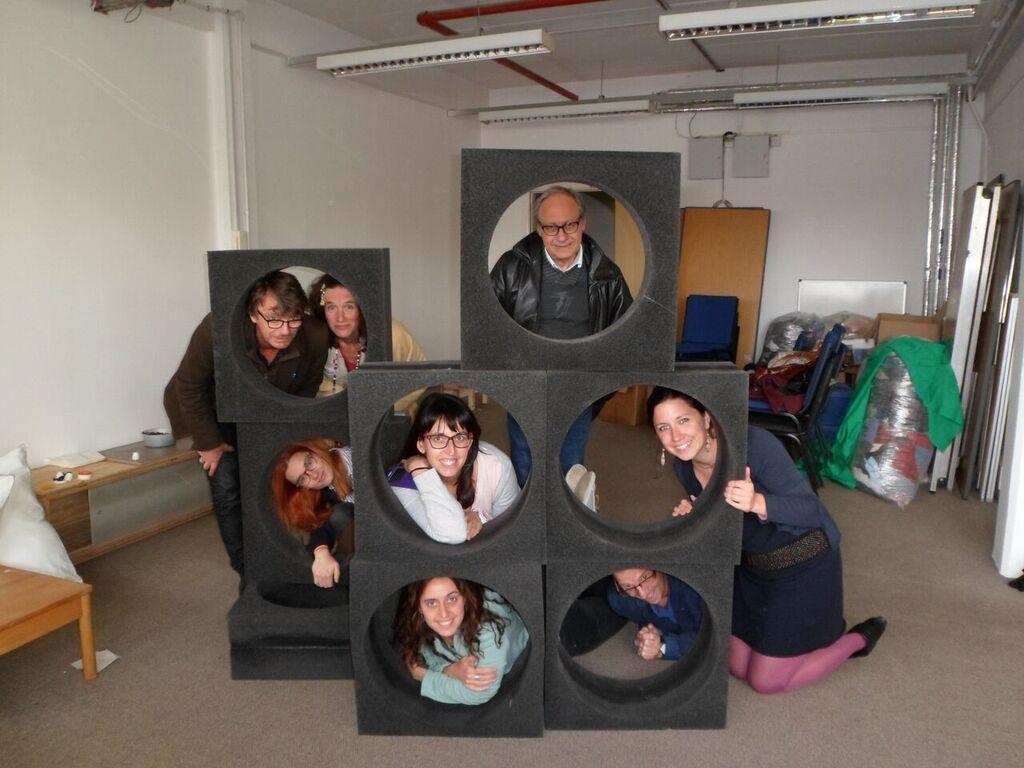 May 2015 : Erasmus Partners at First Transnational meeting at Children's Scrapstore Bristol