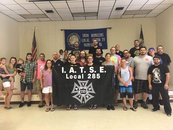Another great annual Labor Day Cookout at the hall! #iatse #iatse285 #unionproud #unionstrong #unionmade #theluther