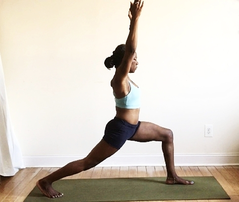 utthita ashwa sanchalanasana. (back heel lifted)