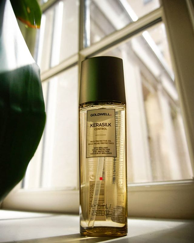 🌞 As we start getting more hot, humid weather, how's your hair feeling? It might need some extra care - maybe a hair oil, like Goldwell's Kerasilk Control line, to counteract the moisture in the air.  Stop by either location to pick up a bottle or get some personalized advice from one of our stylists 🌞 • • • #haircare #hairtips #haircaretips #summerhair #humidity #frizzyhair #goldwell #kerasilk #smoothhair #dccool #dcsalon