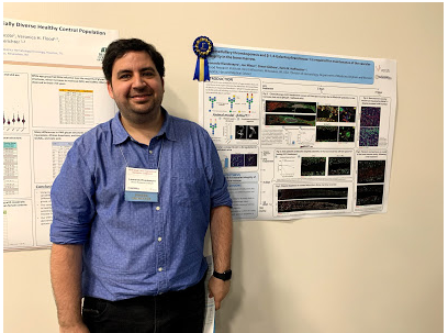 1st Place Poster Winner: Leo Rivadeneyra, PhD