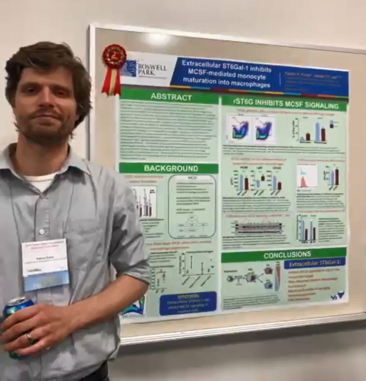 2nd Place Poster Winner: Patrick Punch, PhD