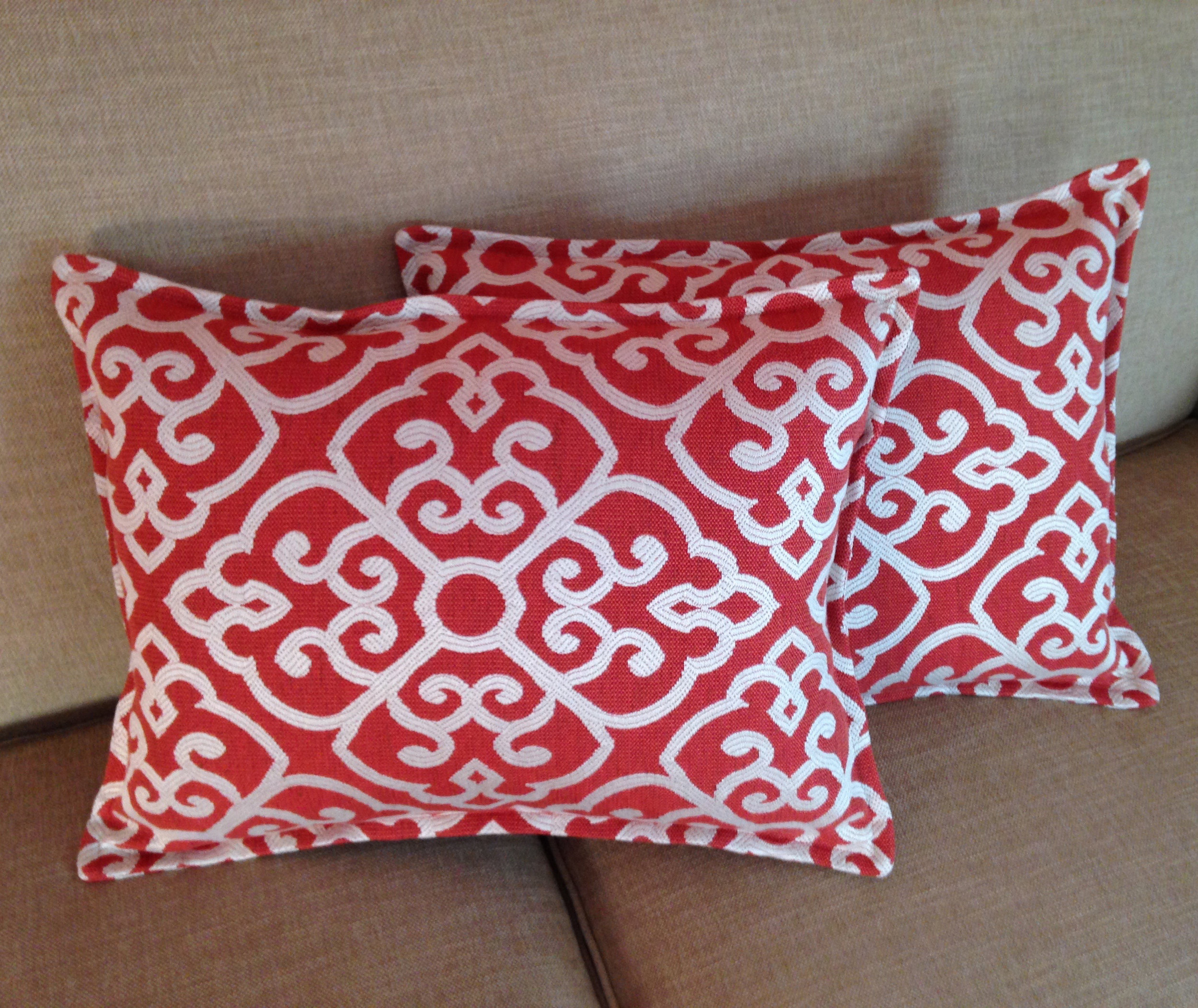 Pillows with Self Flange for Irongate Interiors