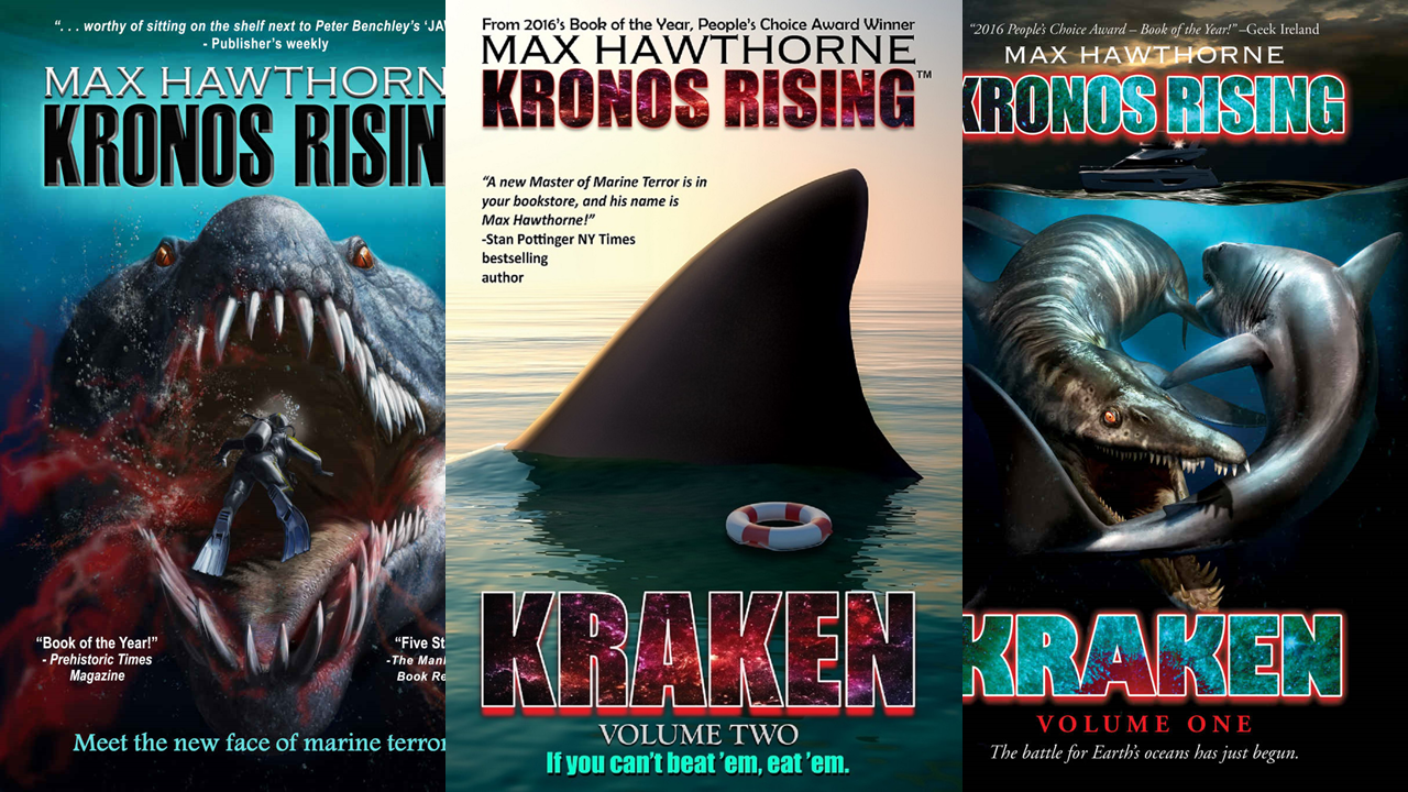 Max Hawthorne - Author - First a quiet coastal community, and then the world, face the wrath of giant sea creatures in bestselling author Max Hawthorne's heart-pounding novels: The KRONOS RISING series.