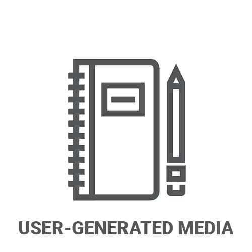 User Generated Media Content