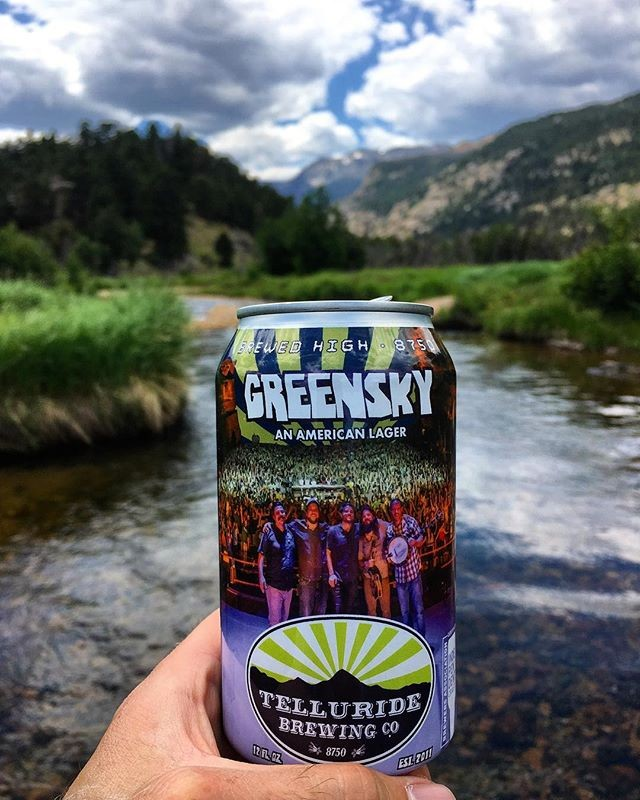 Telluride Brewing Co at Acme in Crested Butte, beer of the month