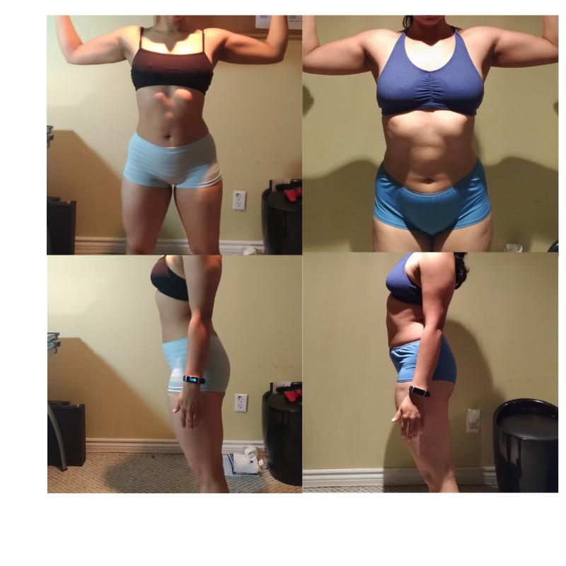 Cristina's 8-week Transformation